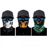 Набор из 3 штук, бандана-труба, черепа, skulls 2 GF 5483