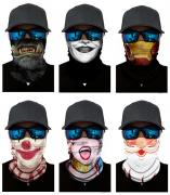 Набор из 6 штук, бандана-труба-шарф-маска, герои, heroes GF 5476