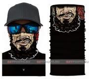 Бесшовная бандана-труба-шарф-маска, пират, pirate, подарочная упаковка GF 5411
