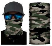Бесшовная бандана-труба-шарф-маска, камушляж 11, camouflage, подарочная упаковка GF 5437