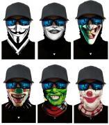 Набор из 6 штук, бандана-труба-шарф-маска, улыбки, smiles GF 5477