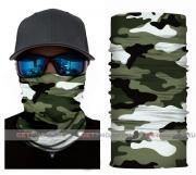 Бесшовная бандана-труба-шарф-маска, камушляж хаки-3, khaki camouflage, подарочная упаковка GF 5429