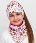 Шапка и снуд Модница Единорог, uni-kind
