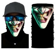 Бесшовная бандана-труба-шарф-маска, зубастая улыбка с языком, teeth smile, подарочная упаковка GF 5425