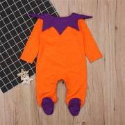 Toddler Baby Boy Girl Halloween Costume Kid Top Romper Pumpkin Outfit Clothes