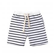 USA Kids Summer Casual Boys Shorts Baby Striped Half Pants Knee Length Trousers