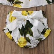 UK Bowknot Infant Baby Kids Girls Outfits Clothes TopsShort Pants Shorts Set
