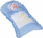 Комплект для новорожденных Сдобина Мой маленький друг 50.115 голубой