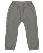 Штаны из хлопкового муслина серого цвета из коллекции Essential 4-5Y Tkano