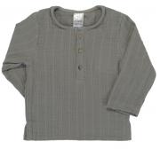 Рубашка из хлопкового муслина серого цвета из коллекции Essential 3-4Y Tkano