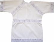 Крестильная рубашечка Папитто с гипюром 1208