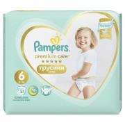 Трусики PAMPERS PREMCARE XL 31 шт
