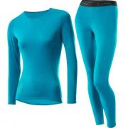 Комплект термобелья LOFFLER Wool женский 15017-364 аквамарин