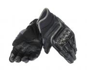 Перчатки женские Dainese Carbon D1 Short Lady Gloves - Blk/Blk/Blk (M)