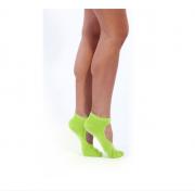 Носки противоскользящие для занятий йогой, салатовый BRADEX SF 0349 BRADEX Носки противоскользящие для занятий йогой, салатовый