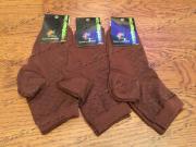 Носки женские из бамбука шоколад 5 пар, размер 34-37 (23)