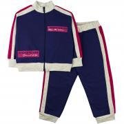 Спортивный костюм для девочек Юлла 867/863ф ап цв. розовый р.110