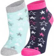 Носки для девочек Demix, 2 пары, размер 23-26