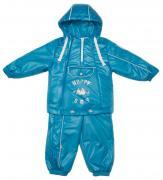Комплект Malek-Baby: куртка и полукомбинезон Весна-Осень Бирюза 484Т р.86