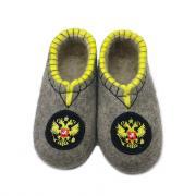 Мужская домашняя обувь ВаленкиОпт.ру Т357 43 Серый