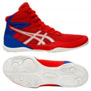 Детские борцовки Asics Matflex 6 GS Red/Blue