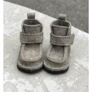 Маква-Обувь Валенки детские на липучке (войлок)