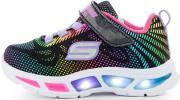 Кроссовки для девочек Skechers Litebeams-Pretty Gleam, размер 19.5