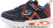Кроссовки для мальчиков Skechers Flex-Glow-Nite Lite, размер 21