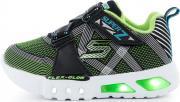 Кроссовки для мальчиков Skechers Flex-Glow-Nite Lite, размер 19.5