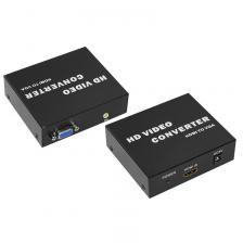 Конвертер HDMI на VGA + Стерео 3,5 мм, металл REXANT, цена за 1 шт