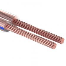 Кабель акустический PROconnect 2х0,75 мм?, прозрачный BLUELINE, бухта 100 м, цена за 1 бухта