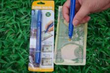 Детектор банкнот ручка-карандаш для определения подлинности купюр 3 штуки – фото 1