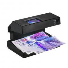 Портативный настольный детектор фальшивых банкнот