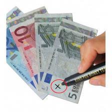 Детектор банкнот ручка-карандаш для определения подлинности купюр 3 штуки – фото 2