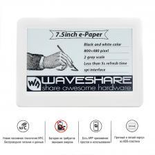 "NFC дисплей e-Paper, Waveshare 7.5"", NFC-P"