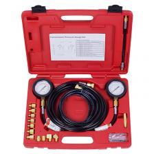 Манометр для измерения давления масла, 2 манометра 7 и 35 бар, комплект адаптеров 120-2002