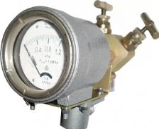Дифманометр стрелочный показывающий ДСП-80-РАСКО Дифманометр ДСП-80В-Раско 40,0кПа-1,6МПа 1,5К
