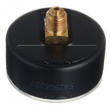 Манометр Braukmann 1/4 НР(ш) аксиальный 10 бар d63 мм для редуктора D06F и фильтра FK06