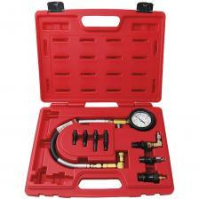 Дизельный компрессометр 0-70атм, кейс, комплект адаптеров мастак 120-11009c