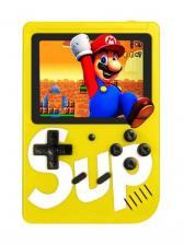 Портативная игровая приставка / Игровая консоль / SUP Game Box 400 in 1 / Желтый