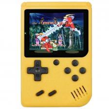 Портативная консоль QVATRA Game Box Plus 400 in 1 Yellow