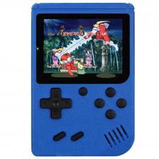 Портативная консоль QVATRA Game Box Plus 400 in 1 Blue