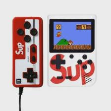 Портативная игровая приставка с джойстиком SUP GAMEBOX PLUS 400 в 1 (белый)