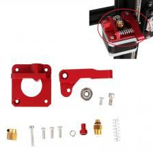 2 SET 3D Принтер Аксессуары для принтера: 1 Набор экструдеров для подачи привода MK8 и 1 шт. Prusa I3 Anet Ant Anet Anter Metal X Перевозка с держателем ремня – фото 4
