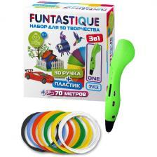 Набор для 3D рисования Funtastique ONE (Зеленый) PLA-пластик 7 цветов FP001A-G-PLA-7