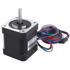 3 Pack Nema 17 Шаговый двигатель с 1М 4-контактным кабелем и разъемом и 3 комплект для монтажного кронштейна для 3D для 3D-принтера / ЧПУ – фото 1