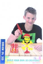 """3D ручка для создания объемных рисунков """"3D PENS (3 ШТ) 6+ 1085/36"""" KoiKo, 3 ручки в комплекте – фото 4"""