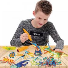 """3D ручка для создания объемных рисунков """"3D PENS (8 шт) 6+ 1118/18 KoiKo, 8 ручек в комплекте – фото 2"""