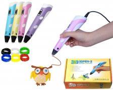 "3D ручка ""3D Pen-2"" Фиолетовая 571359 – фото 1"