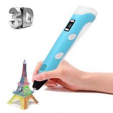 Набор 3D ручка ,цвет голубой 3DPEN-3 – фото 2